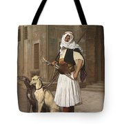 The Arnaut With Two Whippets Tote Bag