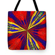 The Arrival Of Colours Tote Bag