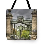 The Art Nouveau Ships Elevator - Portal View Tote Bag