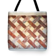 The Art Of Brick Weaving  Tote Bag
