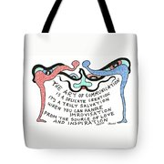 The Art Of Communication... Tote Bag