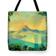 The Art Of Long Distance Breathing Tote Bag