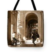 The Art Of Love Italian Style Tote Bag