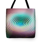 The Art Of Ripples Tote Bag