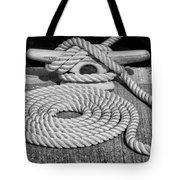 The Art Of Rope Lying Tote Bag
