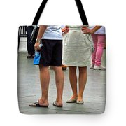 The Art Of  Walking And Talking Tote Bag