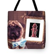 The Artist And His Masterpiece Tote Bag by Edward Fielding