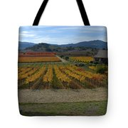 The Artist In The Vineyard Tote Bag