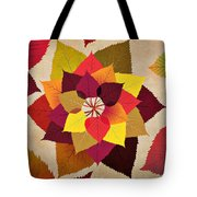 The Artistry Of Fall Tote Bag