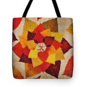 The Artistry Of Fall Klimt Homage Tote Bag