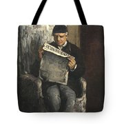The Artists Father Reading L Evenement Tote Bag