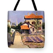 The Artists House At Yerres Tote Bag
