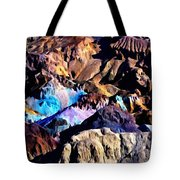 The Artists Palette Death Valley Tote Bag