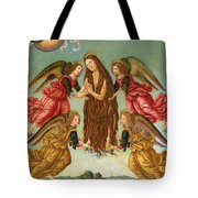 The Ascension Of Saint Mary Magdalene Tote Bag