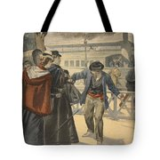 The Assassination Of The Empress Tote Bag by French School
