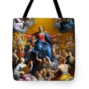 The Assumption Of The Virgin Mary Tote Bag by Guido Reni
