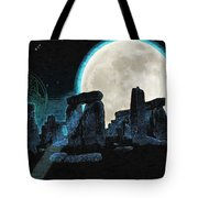 The Astronomers Circle Tote Bag