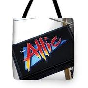 The Attic Myrtle Beach Sc Tote Bag