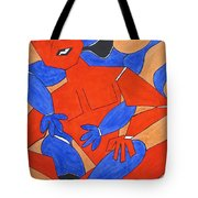 The Attraction Two Tote Bag