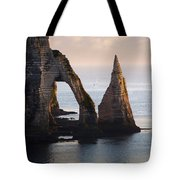 The Aval Door In Etretat  France  Tote Bag