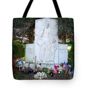 The Babe's Resting Place Tote Bag