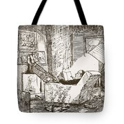 The Bachelor, Illustration From Pont An Tote Bag