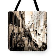 The Back Canals Of Venice Tote Bag