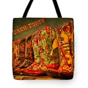 The Back Forty Boots Are Made For Dancin' Tote Bag