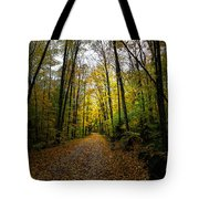 The Back Roads Of Autumn Tote Bag