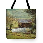 The Backyard Tote Bag