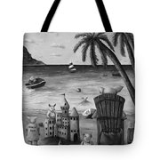 The Bacon Shortage In Bw Tote Bag