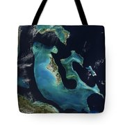 The Bahamas Tote Bag by Adam Romanowicz