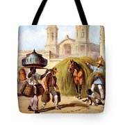 The Baker And The Straw Seller, 1840 Tote Bag