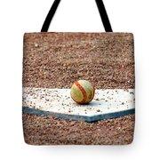 The Ball Of Field Of Dreams Tote Bag by Susanne Van Hulst
