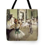 The Ballet Class Tote Bag