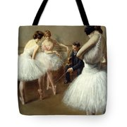 The Ballet Lesson Tote Bag