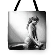 The Ballet Trial   Tote Bag