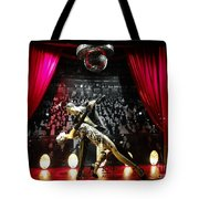 The Ballroom Dancers Tote Bag