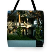 The Banyan House Resort In Key West Tote Bag