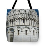 The Baptistery In Pisa  Tote Bag