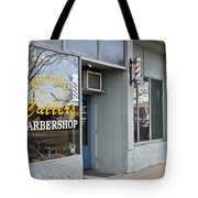 The Barber Shop 3 Tote Bag