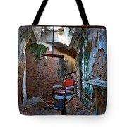 The Barbershop Chair Tote Bag