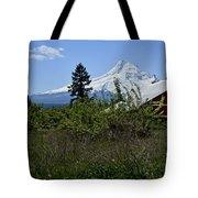 The Barn And  Mt. Hood Tote Bag