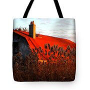 The Barn  At Sunset Tote Bag
