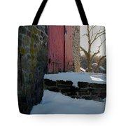The Barn Doors Tote Bag