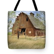 the Barn  Tote Bag by Fran Riley