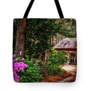 The Barn In Spring Tote Bag