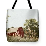 The Barn In The Distance Tote Bag