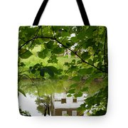The Barn In The Water Tote Bag