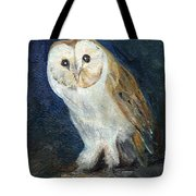 The Barn Owl Tote Bag